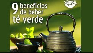9 beneficios de beber té verde