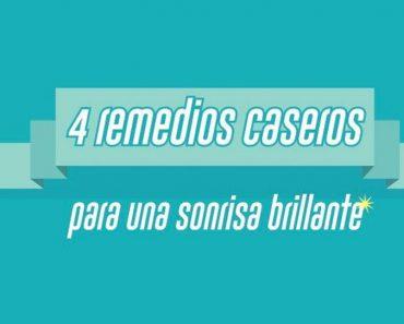 4 remedios caseros para una sonrisa brillante