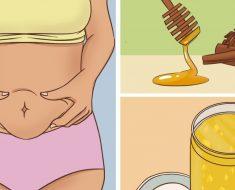 5 bebidas que ayudan a tratar de reducir la grasa del vientre
