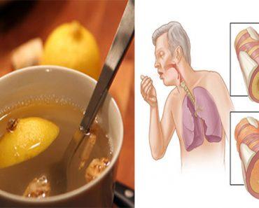 Este elixir de 3 ingredientes limpia el moco de los pulmones y fortalece el sistema inmunológico