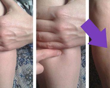 """Se llama """"El punto de las cien enfermedades"""" y esto es lo que pasa si lo masajeas todos los días"""