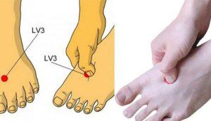 ¿Sabías que presionar esta parte de tus pies todos los días puede mejorar tu salud?