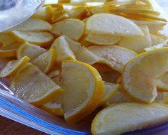 Esta es la razón por la que deberías congelar limones de ahora en adelante...