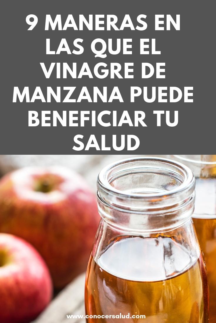 9 maneras en las que el vinagre de manzana puede beneficiar tu salud