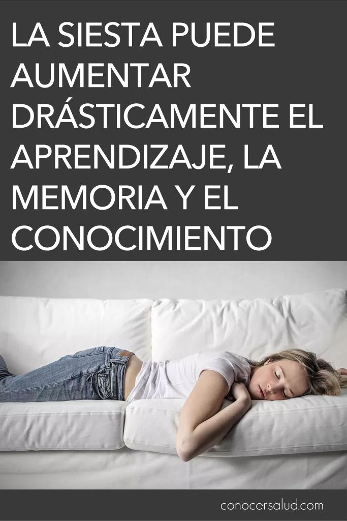 La siesta puede aumentar drásticamente el aprendizaje, la memoria, el conocimiento y mucho más