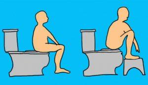 Es probable que no sepas que usar el baño de ESTA forma puede afectar a tu colon