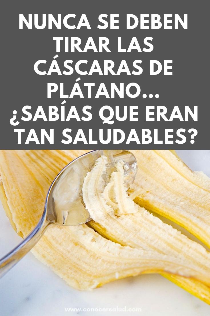 He aquí por qué nunca se deben tirar las cáscaras de plátano... ¿Sabías que eran tan saludables?