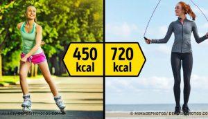 15 maneras de quemar más de 300 calorías por hora. ¿Cuál eliges?