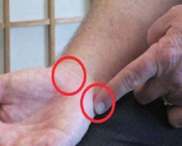 Presiona estos puntos en la muñeca para dormirte antes y hacer desaparecer la ansiedad