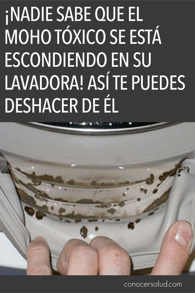 ¡Nadie sabe que el moho tóxico se está escondiendo en su lavadora! Así te puedes deshacer de él