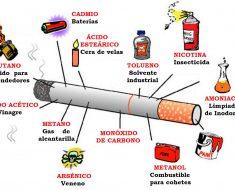 Cada vez que usted fuma, esto es lo que usted está consumiendo