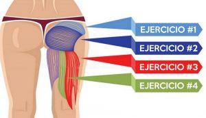 4 impresionantes ejercicios para sus glúteos que NO SON sentadillas