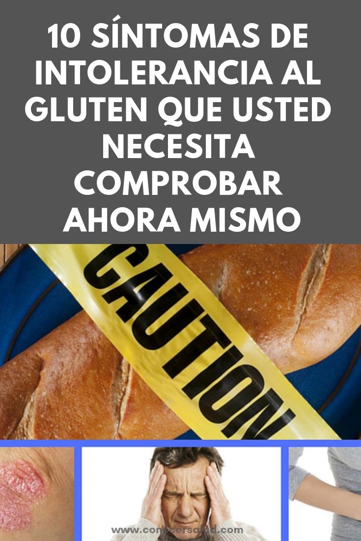 10 síntomas de intolerancia al gluten que usted necesita comprobar ahora mismo