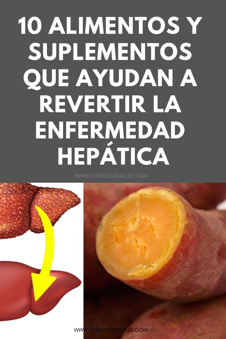 10 Alimentos y suplementos que ayudan a revertir la enfermedad hepática