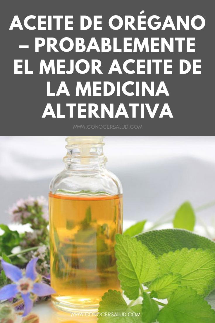 Aceite de orégano - Probablemente el mejor aceite de la medicina alternativa