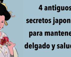 4 antiguos secretos japoneses para mantenerse delgado y saludable