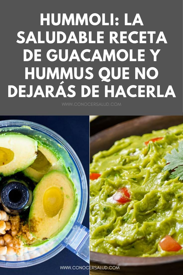 Hummoli: la saludable receta de guacamole y hummus que una vez que la pruebes no dejarás de hacerla