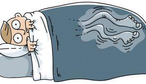 Si tiene la sensación de tener las piernas inquietas por la noche, ESTO es lo que significa