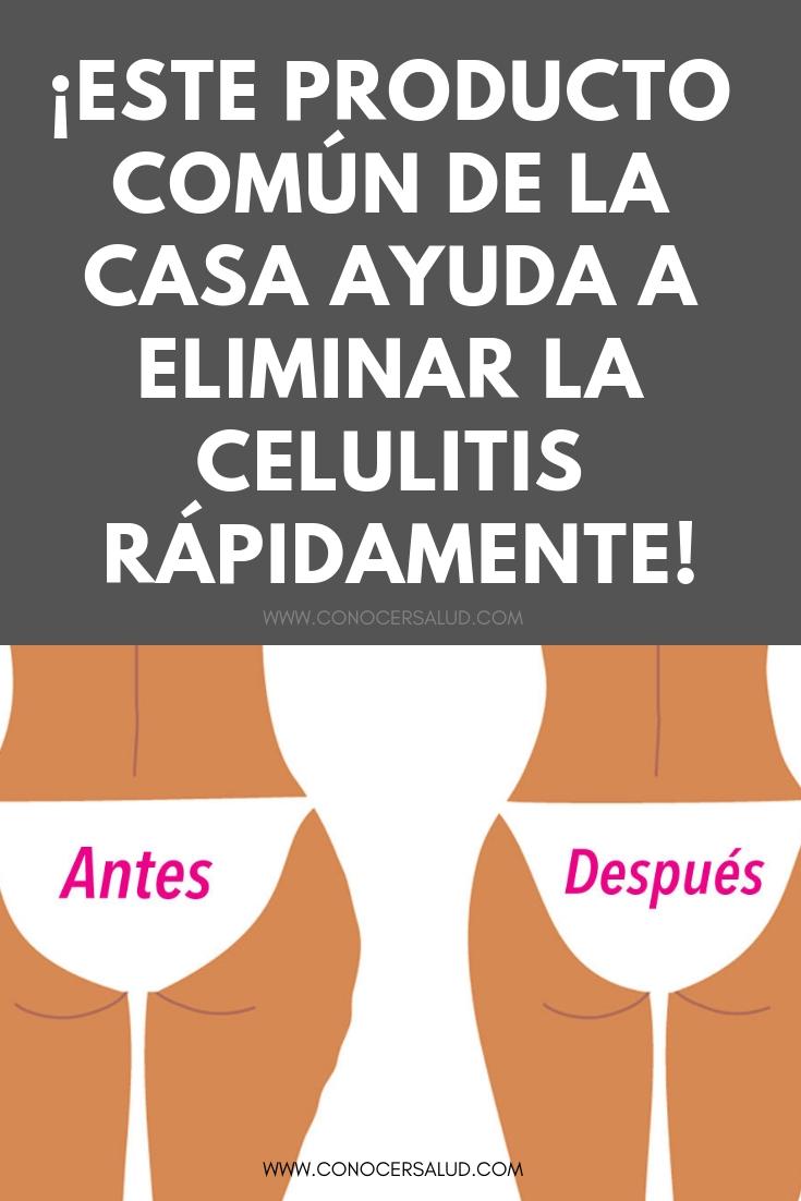 ¡Este producto común de la casa ayuda a eliminar la celulitis RÁPIDAMENTE!