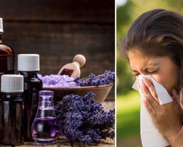 5 aceites esenciales que pueden detener las alergias para siempre