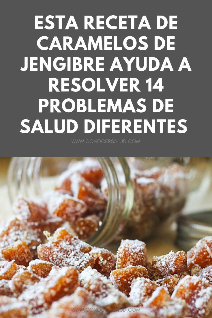 Esta receta de caramelos de jengibre ayuda a resolver 14 problemas de salud diferentes y se tarda sólo 10 minutos en hacerlos
