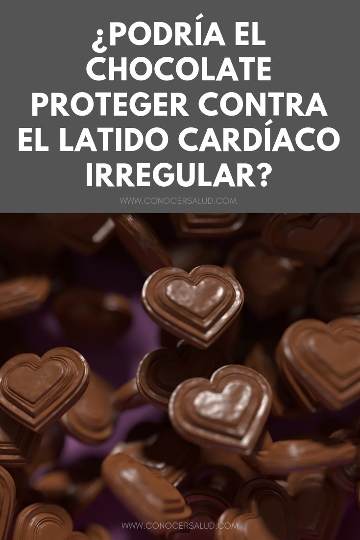 ¿Podría el chocolate proteger contra el latido cardíaco irregular?