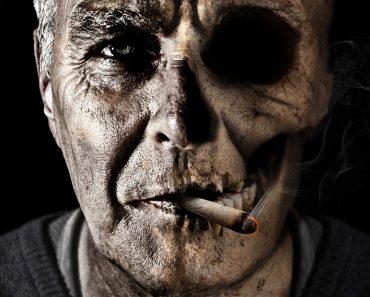 9 partes del cuerpo que pueden dañar por fumar