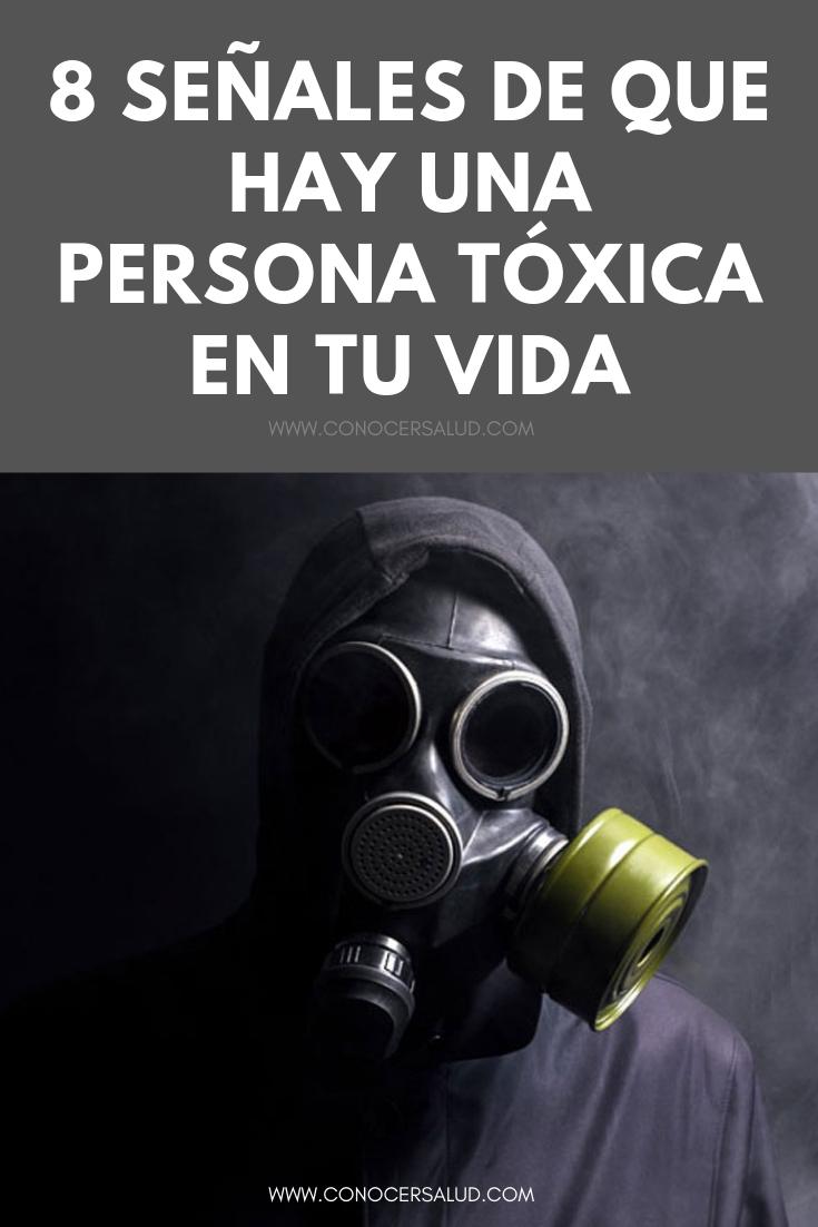 8 señales de que hay una persona tóxica en tu vida