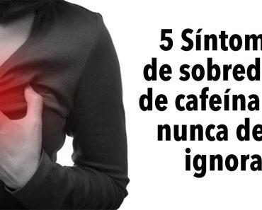 5 Síntomas de sobredosis de cafeína que nunca debe ignorar