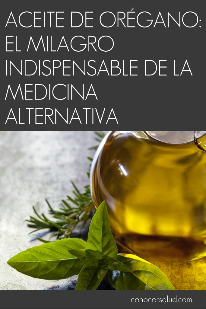 Aceite de orégano: el milagro indispensable de la medicina alternativa