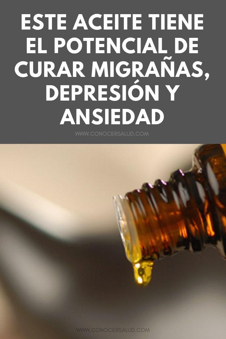 Este aceite tiene el potencial de curar migrañas, depresión y ansiedad