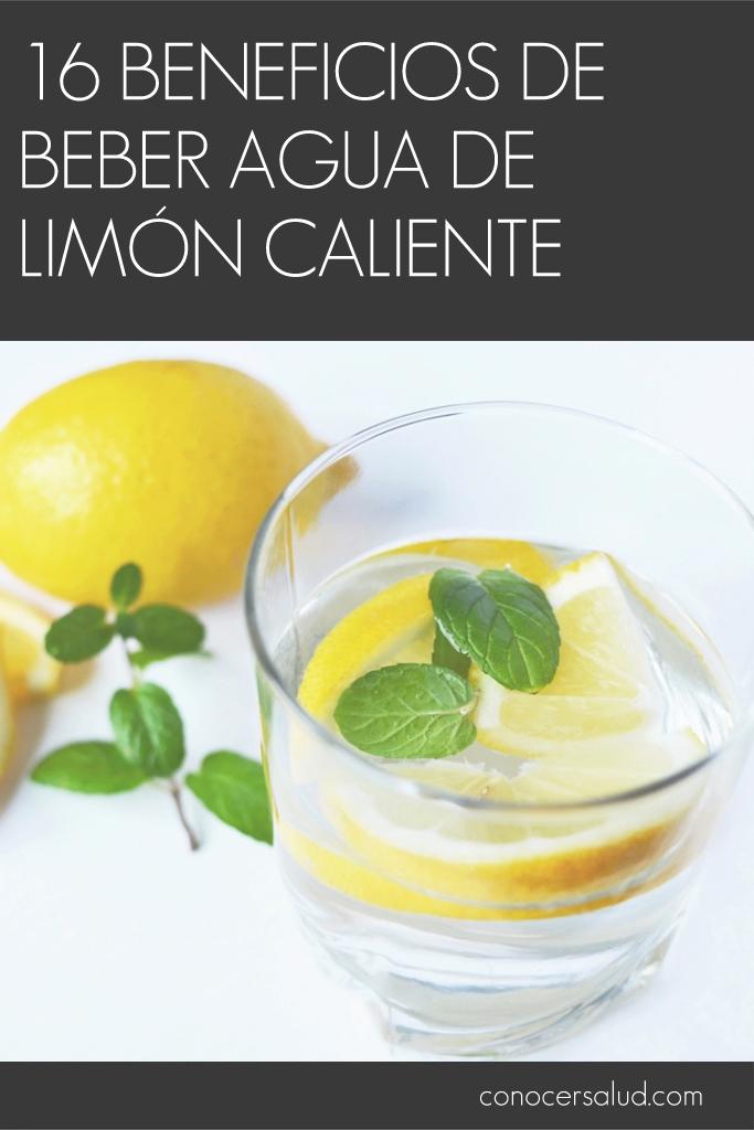 16 beneficios de beber agua de limón caliente