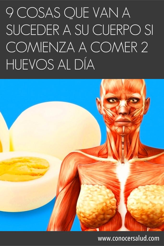 9 cosas que van a suceder a su cuerpo si comienza a comer dos huevos al día