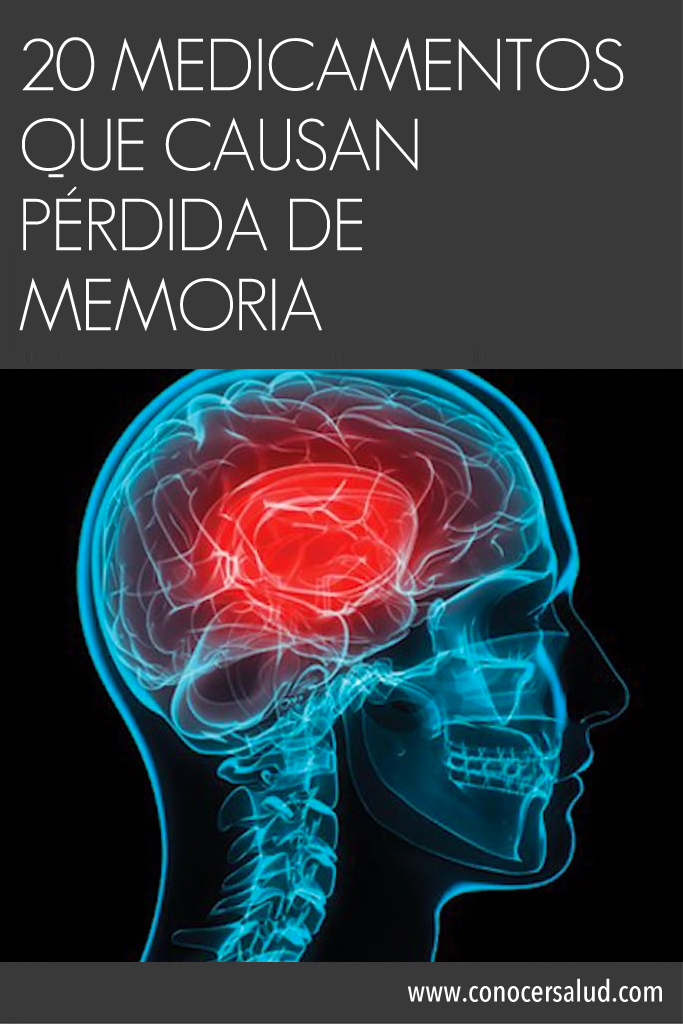 Tenga cuidado: 20 medicamentos que causan pérdida de memoria