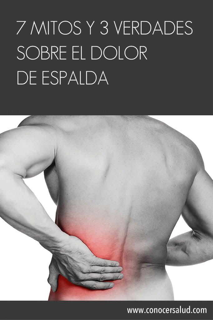 7 mitos y 3 verdades sobre el dolor de espalda