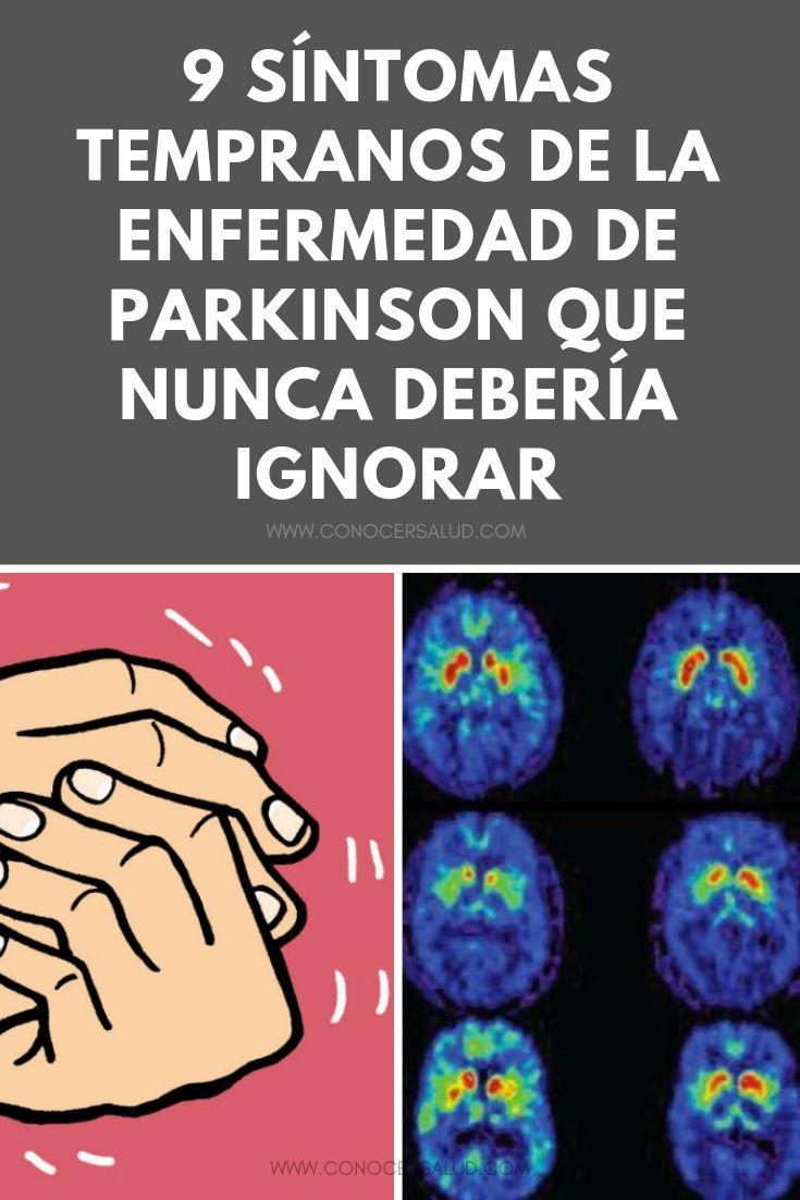 9 síntomas tempranos de la enfermedad de Parkinson que nunca debería ignorar