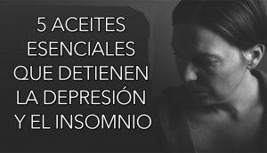 5 aceites esenciales que DETIENEN la depresión y el insomnio