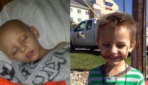 El aceite de marihuana cura a un niño de 3 años de cáncer