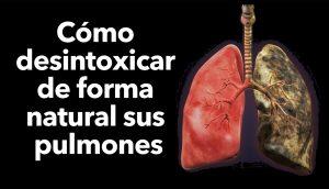 Cómo desintoxicar de forma natural sus pulmones