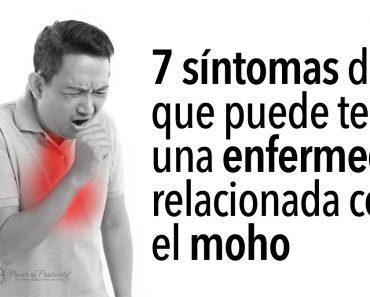 7 síntomas de que puede tener una enfermedad relacionada con el moho