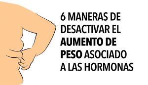 6 maneras de desactivar el aumento de peso asociado a las hormonas