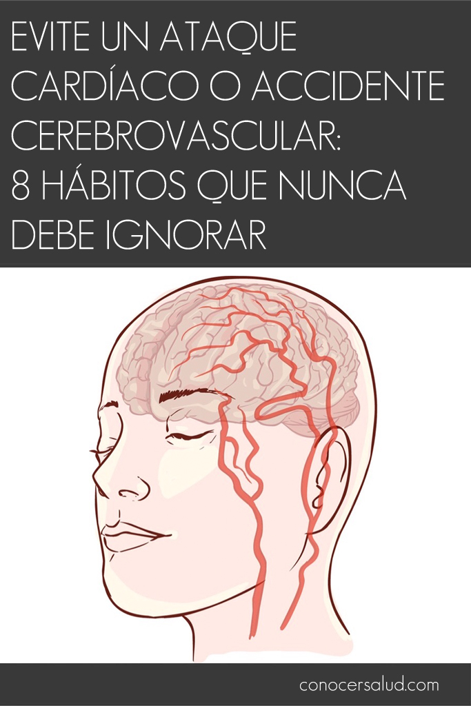 Evite un ataque cardíaco o accidente cerebrovascular: 8 hábitos que nunca debe ignorar