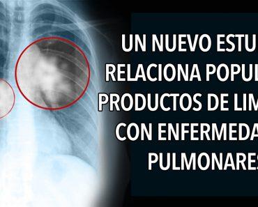 Un nuevo estudio relaciona populares productos de limpieza con enfermedades pulmonares