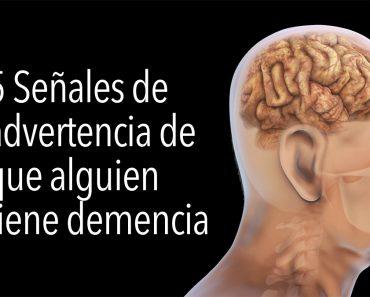 5 Señales de advertencia de que alguien tiene demencia