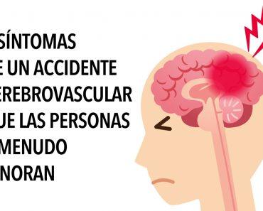6 síntomas de un accidente cerebrovascular que las personas a menudo ignoran