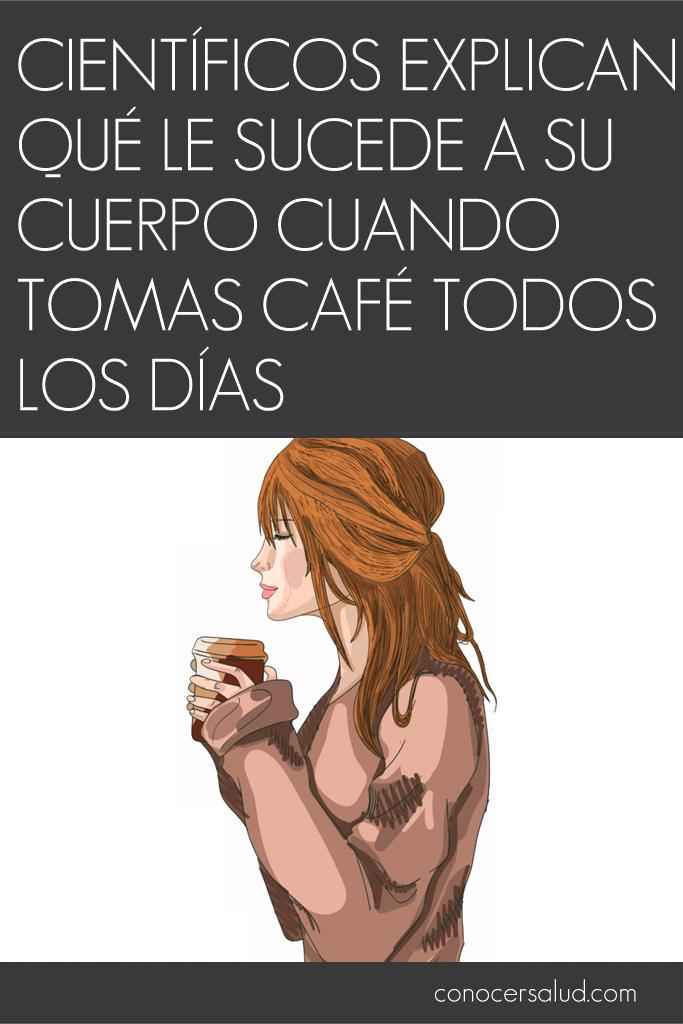 Científicos explican qué le sucede a tu cuerpo cuando tomas café todos los días