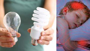 Los peligros para la salud relacionados con las bombillas de bajo consumo