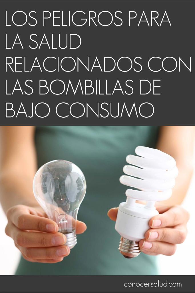 Los peligros para la salud relacionados con las bombillas for Bombillas bajo consumo