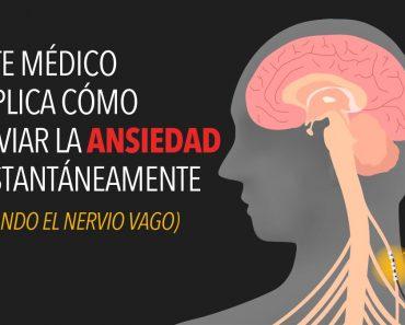 Éste médico explica cómo aliviar la ansiedad instantáneamente usando el nervio vago