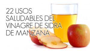 22 usos del vinagre de sidra de manzana que harán que tu vida sea más saludable